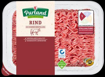 """""""Garantiert ohne Gentechnik"""": Kaufland setzt neuen Standard bei Rindfleischqualität / Rinder-Hackfleisch mit dem """"Ohne GenTechnik""""-Siegel. Bild: """"obs/Kaufland"""""""
