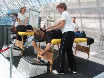 Massage (Symbolbild)