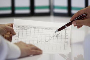 Gewinn, Aufschwung, Börse, Konjunktur und Finanzen (Symbolbild)