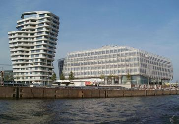 Unilever: Neue Hauptverwaltung in Hamburg (Gebäude rechts)