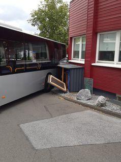 Die Unfallstelle in Mettmann (Bild 1)