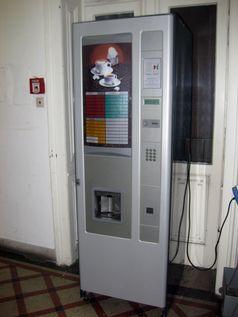Kaffeevollautomat als Verkaufsautomat mit Münzeinwurf