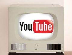 YouTube: Wandert auf den Fernseher.
