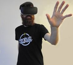 """VR-Brille: """"GingerVR"""" bekämpft Übelkeit."""