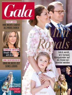 "Cover GALA 13/2018, EVT 22.03.2018. Bild: ""obs/Gruner+Jahr, Gala"""