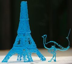 Kreative Gebilde: ''3Doodler'' nutzt Plastik statt Tinte (Foto: kickstarter.com)