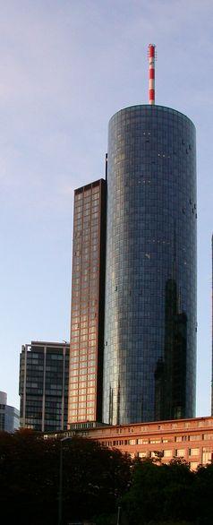 Der Main Tower – Sitz der Helaba in Frankfurt am Main