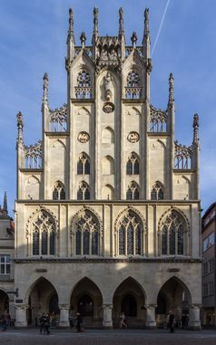 Historisches Rathaus der Stadt Münster