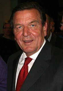 Gerhard Schröder (2009) Bild: SPD-Schleswig-Holstein / de.wikipedia.org
