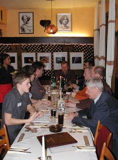 Stammtisch Stuttgart im Restaurant (2007), Archivbild