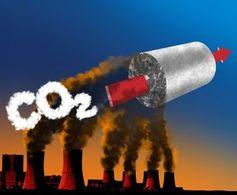 Hybridschaum fängt Kohlendioxid ein.