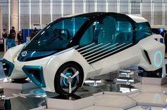 Wasserstoff-Auto: noch eine Seltenheit.