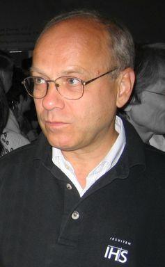 Pater Klaus Mertes, August 2005, Archivbild