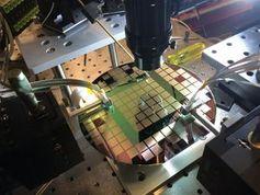 So werden optische Schalter aus Silizium hergestellt.