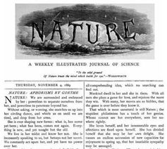 Nature: Einfluss schwindet. Bild: Wikipedia, gemeinfrei