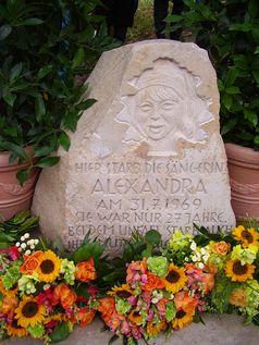 Gedenkstein an der Unfallstelle in Tellingstedt