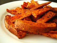 Süßkartoffelpommes: Das Gemüse macht schlank. Bild: flickr.com/Stacy Spensley
