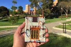 Hightech: Supercapacitor speichert Sonnenenergie. Bild: UCLA