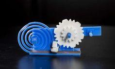 Neues Objekt wird durch 3D-Druck hergestellt Bild: washington.edu