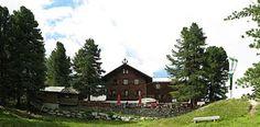 Beispielfoto einer Schutzhütte: Gepatschhaus, Tirol, älteste Alpenvereinshütte in Österreich (heute DAV Frankfurt/M.)