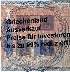 Griechenland  erlebt einen Ausverkauf seines Volksvermögens (Symbolbild)