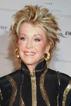 Jane Fonda auf dem Deutschen Nachhaltigkeitspreis.