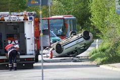 Autounfall: Auch die Seele leidet stark darunter.