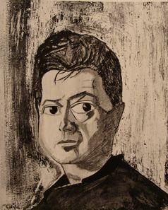 Reginald Gray: Portrait Francis Bacon, 1960. Kollektion der National Portrait Gallery, London