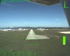 Blickwinkel des Autopiloten: Automatische Landung.