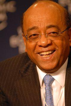 Mo Ibrahim am World Economic Forum
