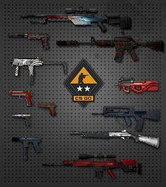Virtuelle Waffen-Skins: Echtgeld-Ersatz für Wette. Bild: valvesoftware.com)