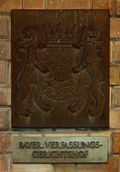 Bayerische Verfassungsgerichtshof: Haustafel