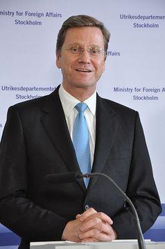 Guido Westerwelle, 21. Juni 2010 Bild: Janwikifoto / de.wikipedia.org