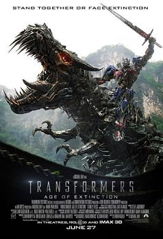 """Transformers 4: Ära des Untergangs"" Kinoplakat"