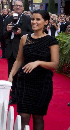 Nelly Furtado auf dem kanadischen Walk of Fame (2010)
