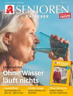 Titelbild Senioren Ratgeber März 2021 Bild: Wort & Bild Verlag Fotograf: Wort & Bild Verlag