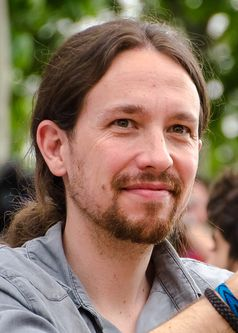 Pablo Iglesias Turrión, 2015