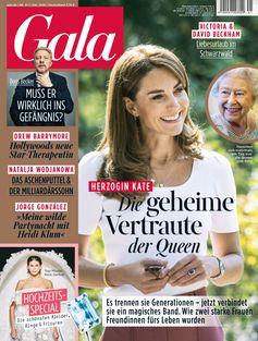 """GALA Cover 42/2020 (EVT: 8. Oktober 2020)  Bild: """"obs/Gruner+Jahr, Gala"""""""