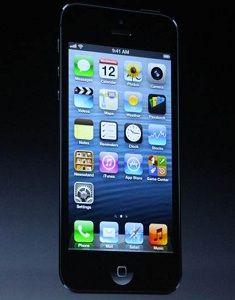 iOS 6 auf Phone 5: Ansicht aus der Präsentation. Bild: Apple