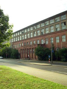 Die ehemalige Firmenzentrale der Auto Union in Chemnitz
