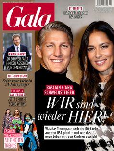 """GALA Cover 5/2020 (EVT: 23. Januar 2020) /  Bild: """"obs/Gruner+Jahr, Gala"""""""