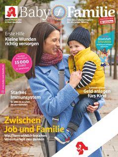 """Titelcover Baby und Familie 10/2020.  Bild: """"obs/Wort & Bild Verlag - Gesundheitsmeldungen"""""""