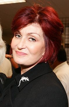 Sharon Osbourne in Los Angeles im Februar 2007