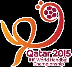 Logo der 24. Handball-Weltmeisterschaft der Herren in Katar