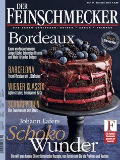 """DER FEINSCHMECKER 11/18. Bild: """"obs/Jahreszeiten Verlag, DER FEINSCHMECKER"""""""