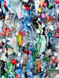 Plastikflaschen: viele Verpackungen nicht unbedenklich.