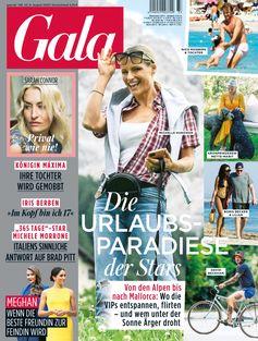 "GALA Cover 33/2020 (EVT: 6. August 2020).  Bild: ""obs/Gruner+Jahr, Gala"""