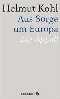 """Buchcover """"Aus Sorge um Europa"""""""