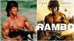 """Rambo"": Kult reloaded kommt nach Bollywood. Bild: indianexpress.com"