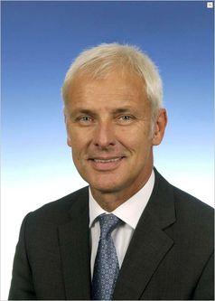 Matthias Müller Bild: Dr. Ing. h.c. F. Porsche AG